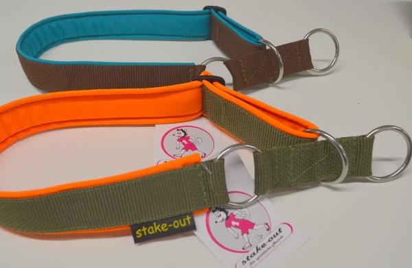 Zugstopp Hundehalsband gepolstert